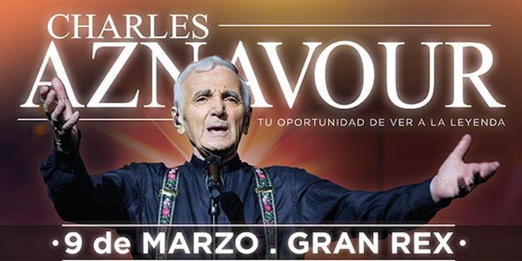 Charles Aznavour en el Gran Rex 2017: Precios y entradas en venta