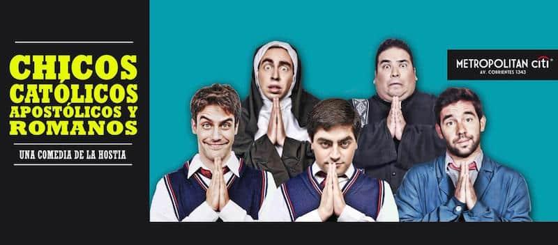 Chicos Católicos en el Teatro Metropolitan 2015: Precios y entradas