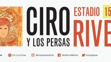 Ciro y Los Persas en River 2018