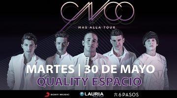CNCO en Córdoba 2017