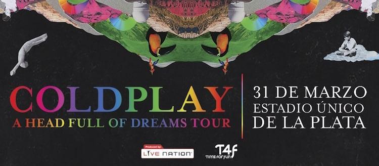 Coldplay en Argentina 2016: Precios y entradas en venta