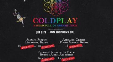 Coldplay en Argentina 2017: Estadio Único de La Plata