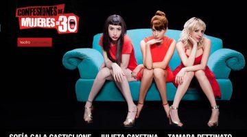 Confesiones de mujeres de 30 en el Teatro Buenos Aires