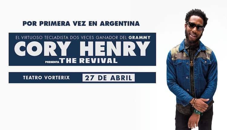 Cory Henry en Argentina 2017: Precios y entradas en venta