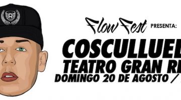 Cosculluela en Argentina 2017: Gran Rex