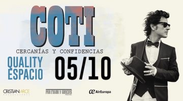 Coti en Córdoba 2018