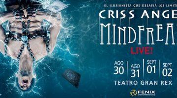Criss Angel en Argentina 2017: Mindfreak en el Gran Rex