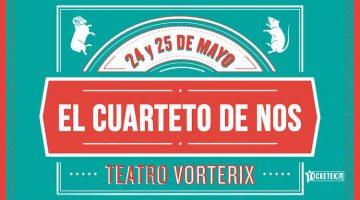 El Cuarteto de Nos en El Teatro Vorterix 2016