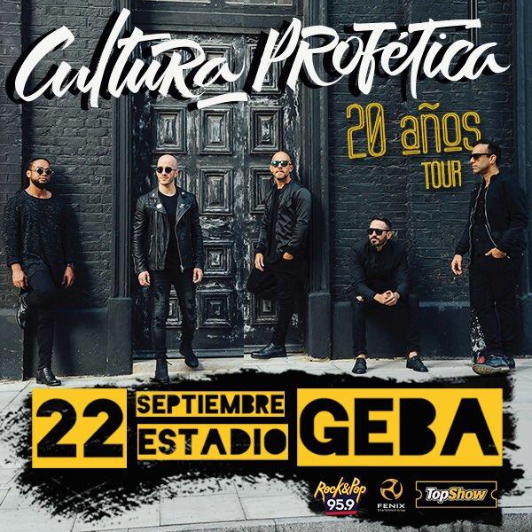Cultura Profética en Argentina 2017: Precios y entradas en venta