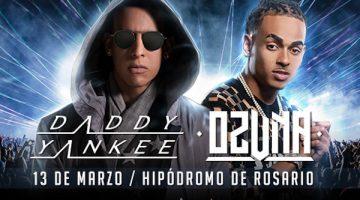 Daddy Yankee en Rosario 2018 (con Ozuna)