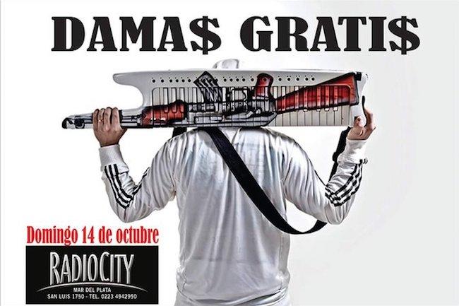 Damas Gratis en Mar del Plata 2018: Precios y entradas en venta
