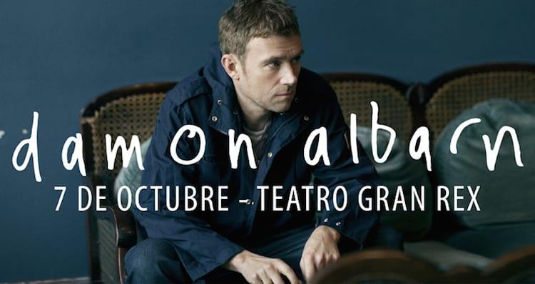 Damon Albarn en Argentina 2014: Precios y entradas en venta