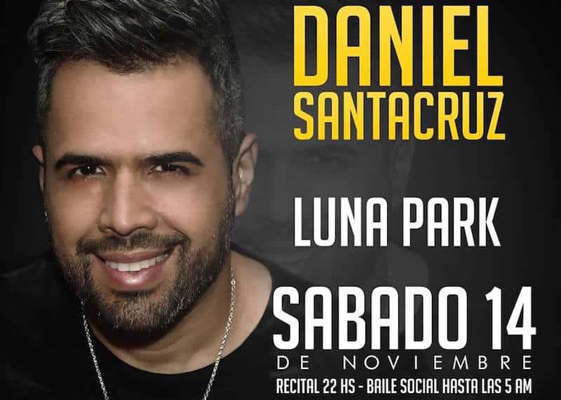 Daniel Santacruz en Argentina 2015: Precios y entradas en venta