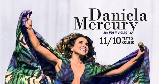 Daniela Mercury en Argentina 2018: Precios y entradas en venta