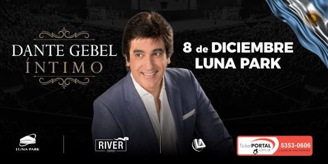 Dante Gebel en el Luna Park 2018: Precios y entradas en venta