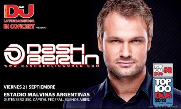 Entradas para Dash Berlin en Argentina 2012