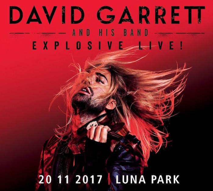 David Garrett en Argentina 2017: Precios y entradas en venta