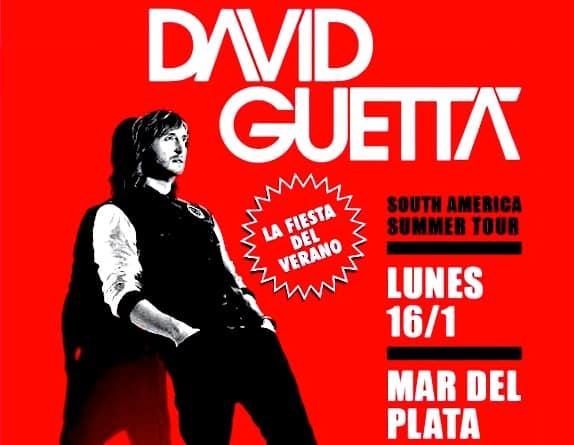 David Guetta en Mar del Plata 2012 (La Caseta Beach)