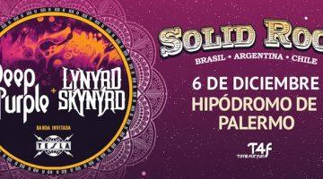 Deep Purple en Argentina 2017: Hipódromo de Palermo
