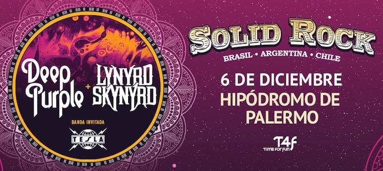 Deep Purple en Argentina 2017: Precios y entradas en venta