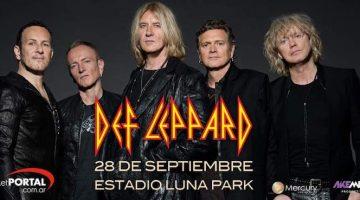 Def Leppard en Argentina 2017: Luna Park