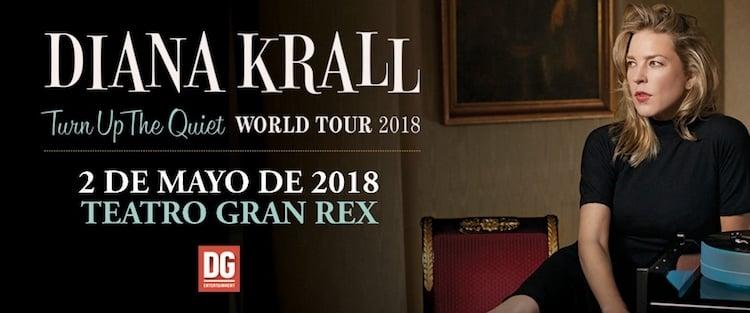 Diana Krall en Argentina 2018: Precios y entradas en venta