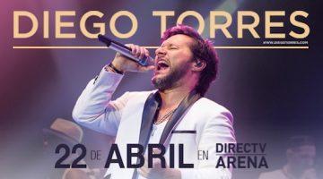 Diego Torres en el DirecTV Arena 2017