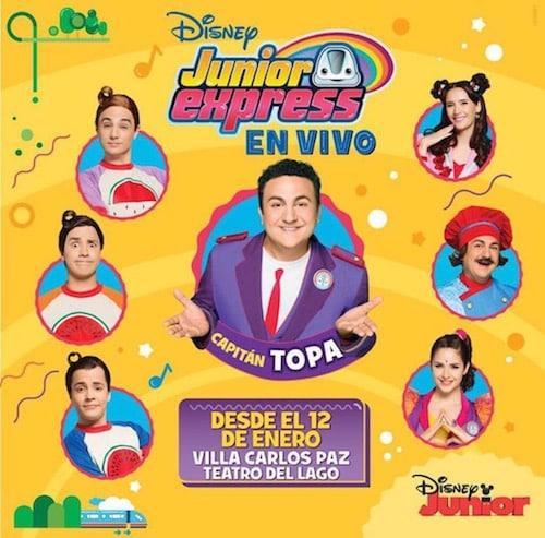 Disney Junior Express en Carlos Paz 2018: Precios y entradas en venta