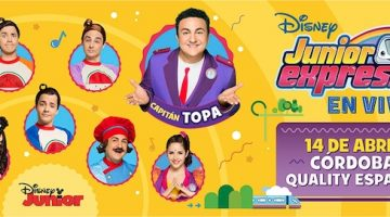 Disney Junior Express en Córdoba 2018
