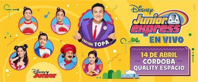 Disney Junior Express en Córdoba 2018: Precios y entradas en venta
