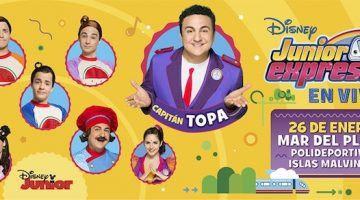 Disney Junior Express en Mar del Plata 2018
