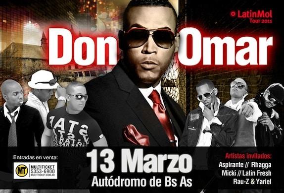 Don Omar en Argentina (Autódromo de Buenos Aires)