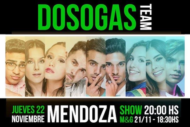 Dosogas en Mendoza 2018: Precios y entradas en venta