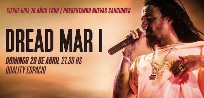 Dread Mar I en Córdoba 2018: Precios y entradas en venta