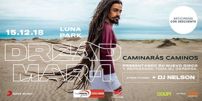 Dread Mar I en el Luna Park 2018: Precios y entradas en venta