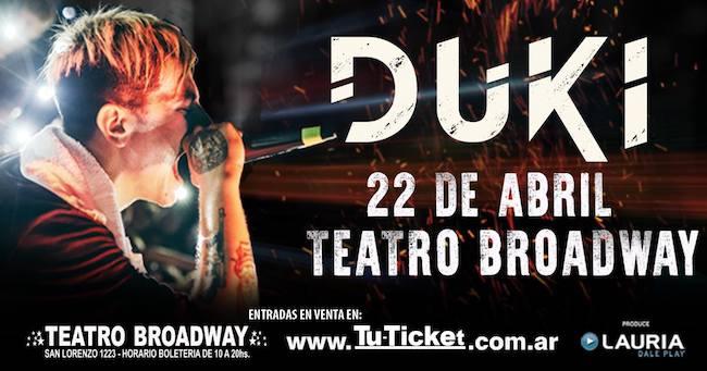 Duki en Rosario 2018: Precios y entradas en venta