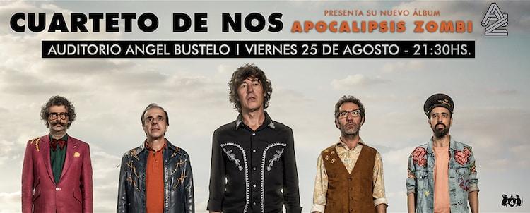 El Cuarteto de Nos en Mendoza 2017: precios y entradas en venta