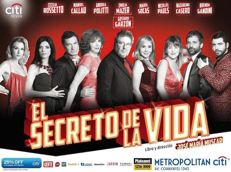 El secreto de la vida en el Teatro Metropolitan 2014: Precios y entradas