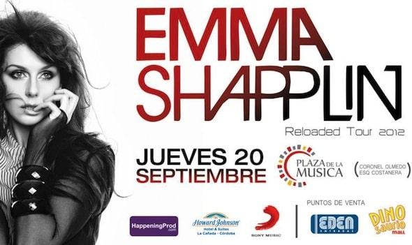Entradas para Emma Shapplin en Cordoba 2012: Plaza de la Musica