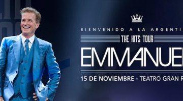 Emmanuel en Argentina 2017: Gran Rex