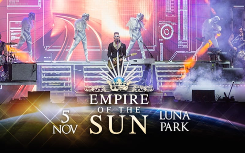 Empire of the sun en Argentina 2015: Precios y entradas