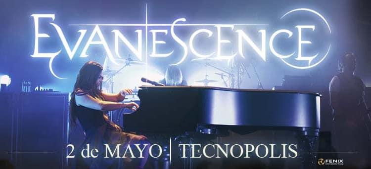 Evanescence en Argentina 2017: Precios y entradas en venta