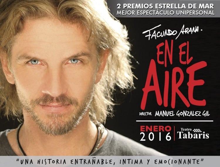 Facundo Arana en el Teatro Tabaris 2016: Precios y entradas en venta