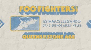 Foo Fighters en Argentina 2018 con Queens of the stone age