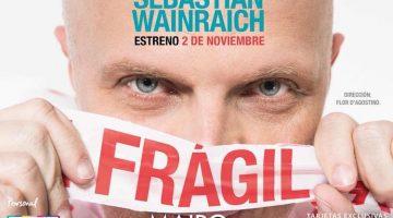 Fragil en el Teatro Maipo 2018: Sebastian Wainraich