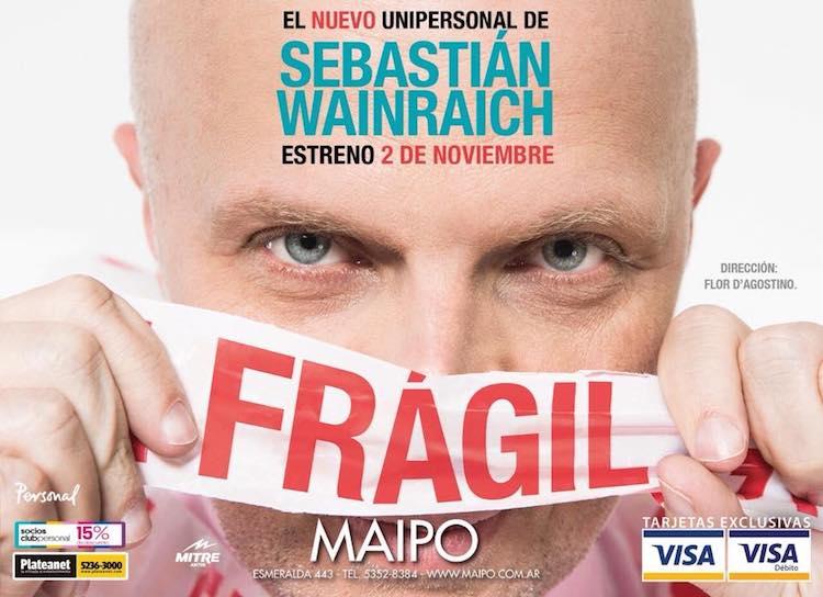 Fragil en el Teatro Maipo 2017: Precios y entradas en venta