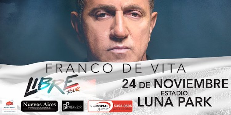Franco De Vita en Argentina 2017: Precios y entradas en venta