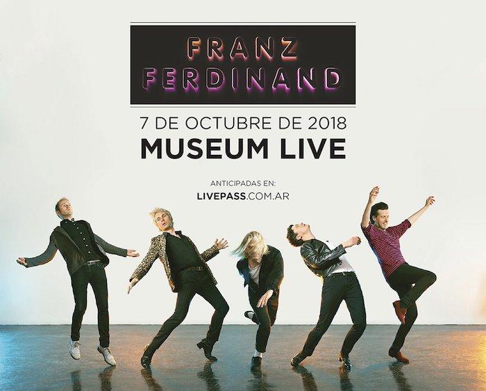 Franz Ferdinand en Argentina 2018: Precios y entradas en venta
