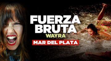 Fuerza Bruta en Mar del Plata 2018