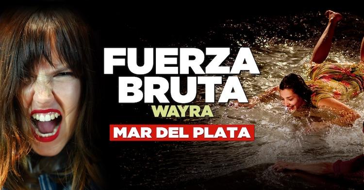 Fuerza Bruta en Mar del Plata 2018: Precios y entradas en venta